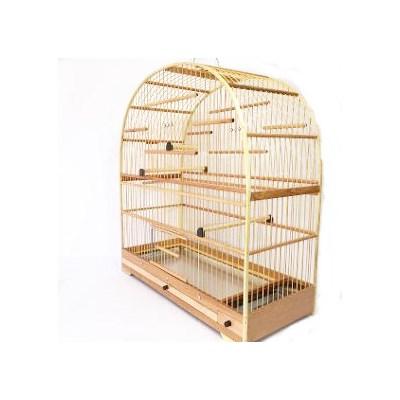Gaiola Arco Fibra Fundo Alumínio para Pássaros N04