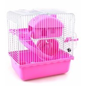 Gaiola para Hamster Happy Home Rosa
