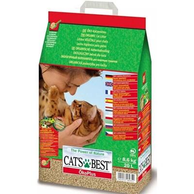 Granulado Ecológico Cat s Best Oko Plus para Gatos 8,6 kg