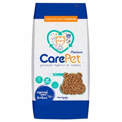 Granulado Higiênico de Madeira Care Pet Especial para Roedores 2,5kg