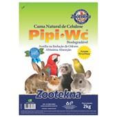 Granulado Zootekna Pipi Pet W.C Aroma Ervas Doce para Roedores 2kg
