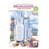 Kit Mamadeira com Bico Extra para Cães e Gatos Filhotes