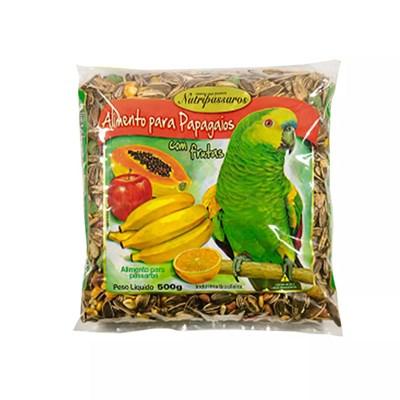 Mistura Nutripássaros para Papagaio com Frutas 500g