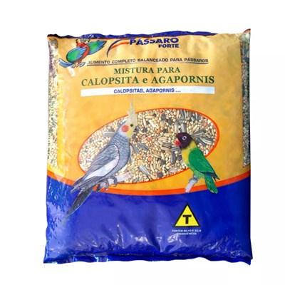 Mistura Pássaro Forte para Calopsitas e Agapornis 500gr