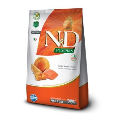 ND Pumpkin para Gatos Adultos Salmão 1,5 kg