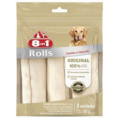 Osso 8in1 Original Roll para Cães 81gr