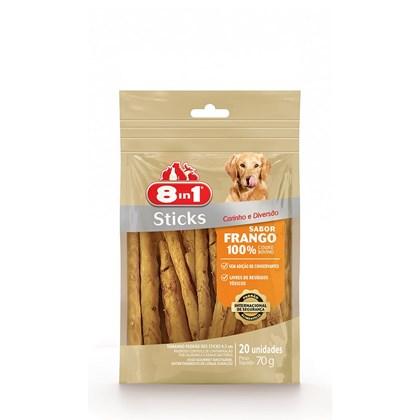 Osso 8in1 Sticks Frango para Cães 70gr