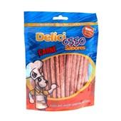 Osso Deliciosso Palito Fino para Cães Carne 200gr