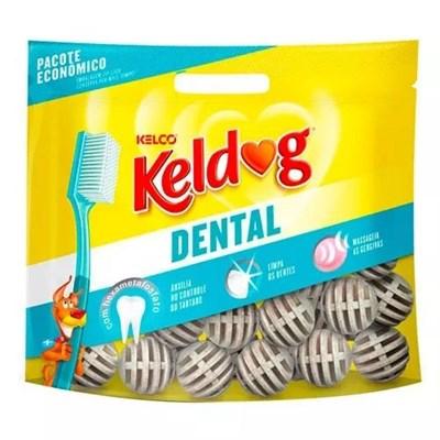 Osso Keldog Dental Bolinha para Cães 350g