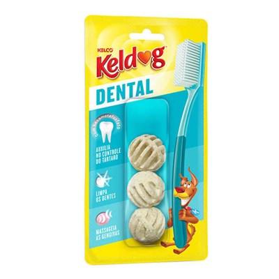 Osso Keldog Dental Bolinha para Cães 50g