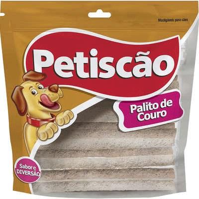 Osso Petiscão Flexível Palito Natural para Cães 500gr