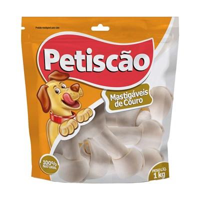 Osso Petiscão para  Cães Nó 4 1kg
