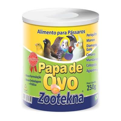 Papa de Ovo Zootekna para Pássaros 250gr