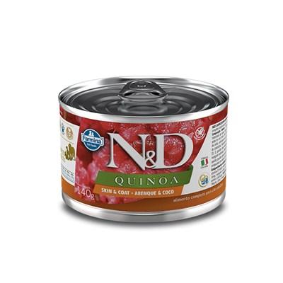 Patê ND Quinoa para Cães Adultos SkinCoat Arenque 140gr