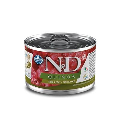 Patê ND Quinoa para Cães Adultos SkinCoat Pato 140gr