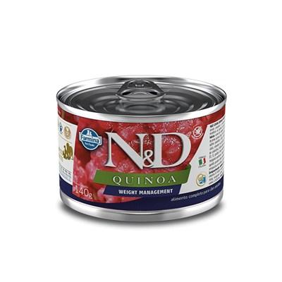 Patê ND Quinoa para Cães Adultos Weight Management 140gr