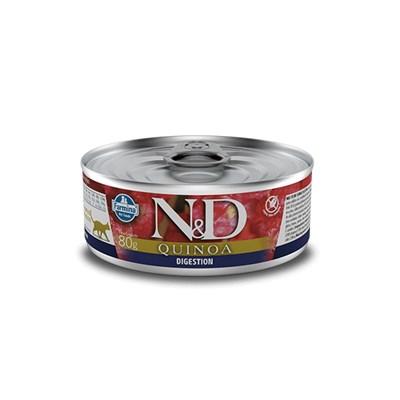 Patê ND Quinoa para Gatos Adultos Digestion 80gr