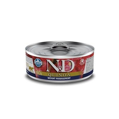 Patê ND Quinoa para Gatos Adultos Weight Management 80gr