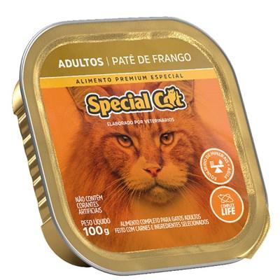 Patê Special Cat para Gatos Adultos Frango 100gr