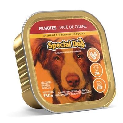 Patê Special Dog para Cães Filhotes Carne 150gr