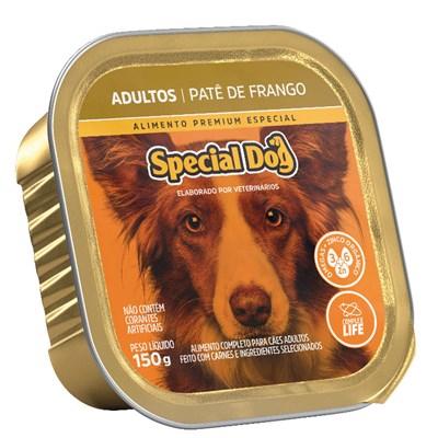 Patê Special Dog pra Cães Adultos Frango 150gr