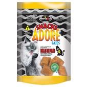 Petisco Adore Snacks Bolas de Pêlo para Gatos Adultos 80gr