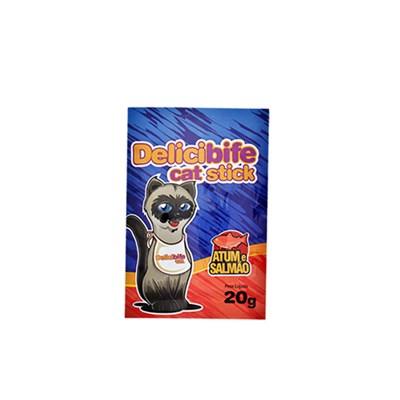 Petisco Delicibife para Gatos sabor Salmão 20gr