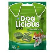 Petisco Dog Licious Dental Fresh Crunch para Cães Adultos 45gr
