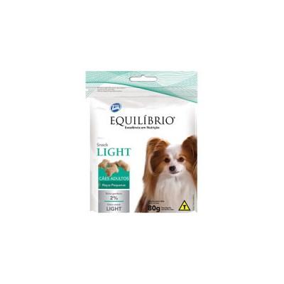 Petisco Equilíbrio Snack Light para Cães Adultos de Raças Pequenas 80gr