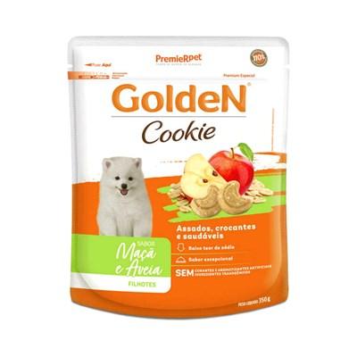 Petisco GoldeN Cookie cachorros flhotes pequeno porte Maçã e Aveia 350gr
