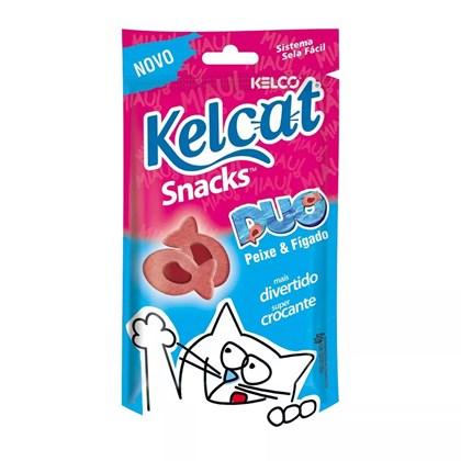 Petisco Kelcat Snack Duo 40gr