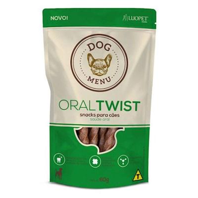 Petisco Luopet Menu Oral Twist para Cães 60gr
