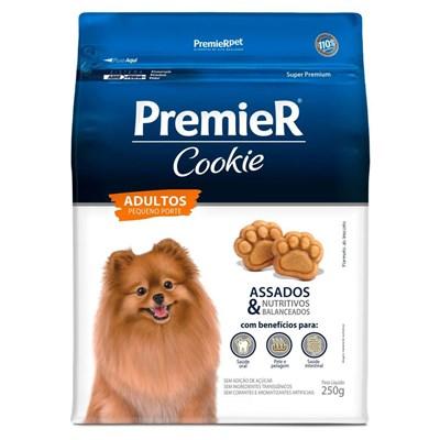 Petisco PremieR Cookie cachorros adultos raças pequenas 250gr