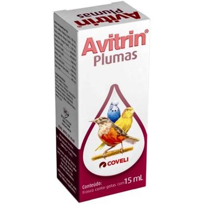 Plumas Avitrin para Pássaros 15ml
