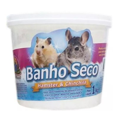 Pó para Banho Hamster pote 1kg