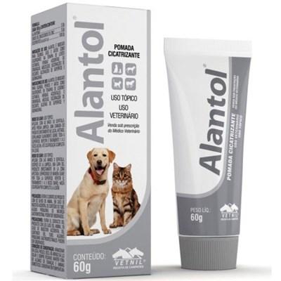 Pomada Cicatrizante Alantol para Cães e Gatos 60GR