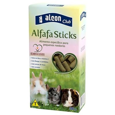 Ração Alcon Club Alfafa Sticks para Roedores 500g