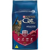 Ração Cat Chow para Gatos Adultos Carne 1kg