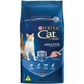 Ração Cat Chow para Gatos Adultos Peixe 1kg