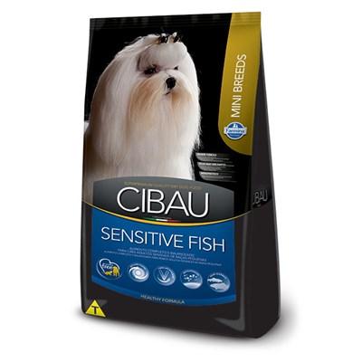 Ração Cibau Fish para Cães Adultos Sensíveis de Raças Pequenas 3kg