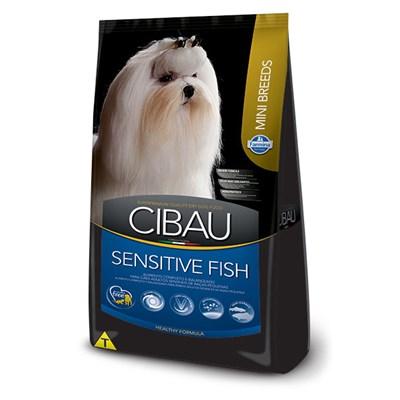 Ração Cibau Sensitive Fish para cachorros adultos mini breeds 10,1kg