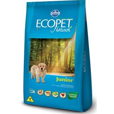Ração Ecopet Natural Junior para cachorros filhotes frango 15,0kg