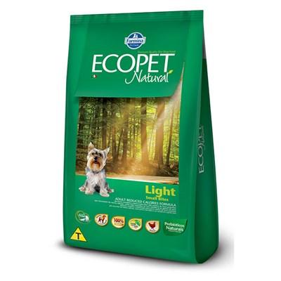 Ração Ecopet Natural Light para cachorros adultos small breeds 3,0kg