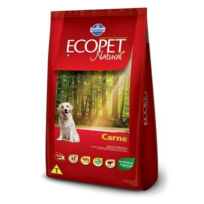Ração Ecopet Natural para Cães Adultos Carne 15kg