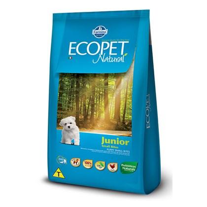 Ração Ecopet Natural para Cães Filhotes de Raças Pequenas 1kg