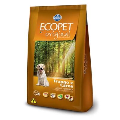 Ração Ecopet Original para cachorros adultos carne e frango 15,0kg