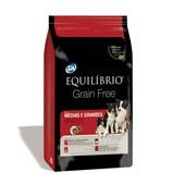 Ração Equilíbrio Grain Free para Cães Adultos de Raças Médias e Grandes 12kg
