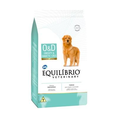 Ração Equilíbrio para Cães Adultos Obesos e Diabéticos 2kg