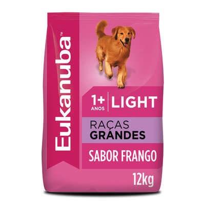 Ração Eukanuba Light para Cães Adultos de Raças Grandes 12kg