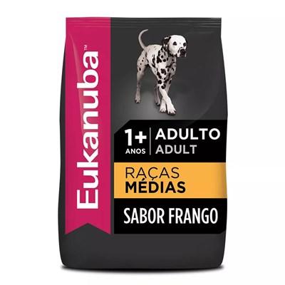 Ração Eukanuba para Cães Adultos de Raças Médias 12kg